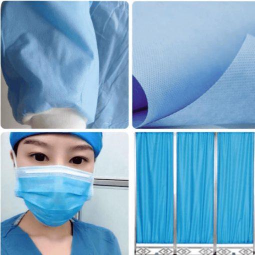 wholesale medical surgical face masks material spunbond polypropylene non-woven fabric 04