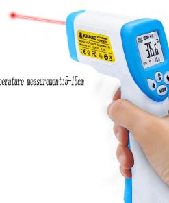 wholesale infrared fever forehead thermometer digital medical clinical no touch forehead ear thermometer gun for adults & baby 02-02