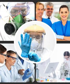 wholesale clear anti-fog design perfect eye glasses protective safety glass protection for lab chemical and workplace safety 01-04