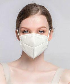 wholesale factory manufacturer kn95 ffp2 pm2.5 earloop filter shield medical surgical n95 face mask 001-01