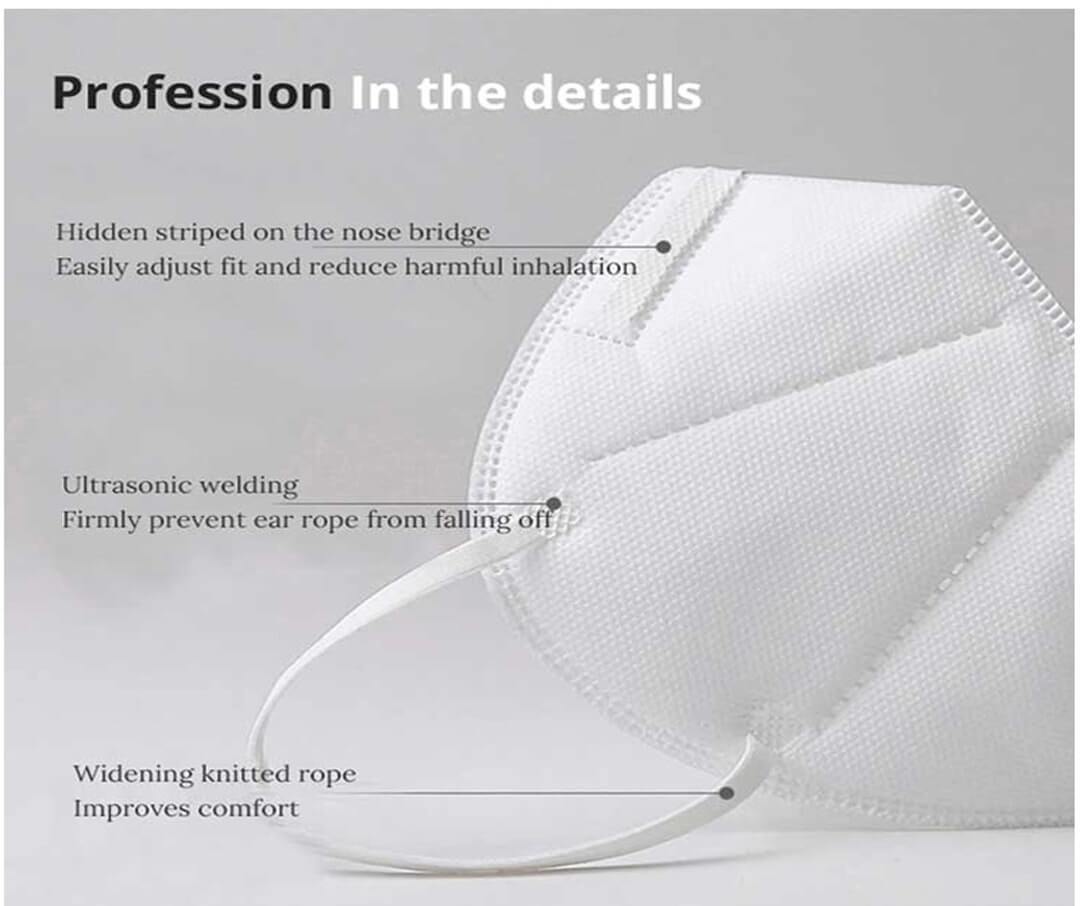 wholesale factory manufacturer kn95 ffp2 pm25 earloop filter shield medical surgical n95 face mask 001 background_06