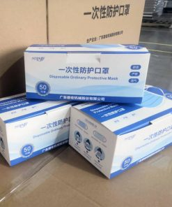 wholesale factory supplier nonwoven fabric medical surgical disposable 3ply filter face masks 00-06