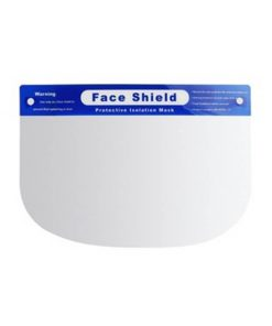 wholesale high quality safety equipment protective anti-fog 32x22cm comfortable fit plastic face shield for public use 01-01