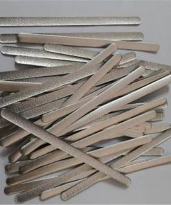 wholesale oem adhesive high quality aluminum flat strips for n95 aluminum strip nose wire for face mask 01-01